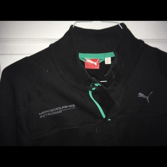 Mercedes Amg Petronas Jackets Coats Mens Puma Track Jacket